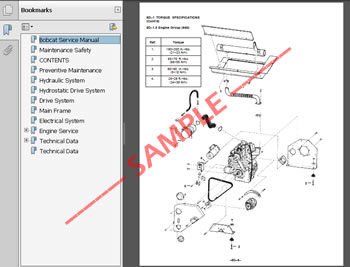 Sample 10 bobcat 463 skid steer loader service manual s n 538911001 539011001 Bobcat 873 Wiring Harness Diagram at creativeand.co