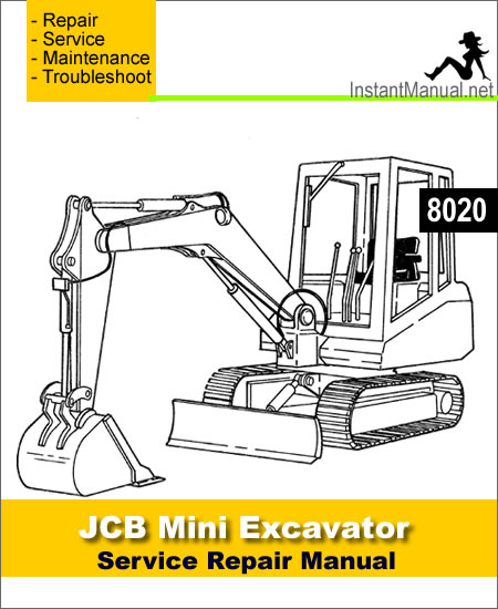 JCB 8020 Mini Excavator Service Repair Manual
