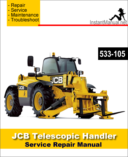 JCB 533-105 Telescopic Handler Service Repair Manual SN 786756
