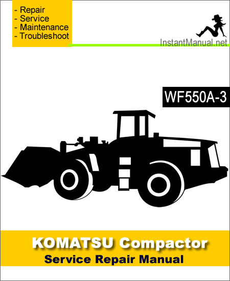 Komatsu WF550A-3 Trash Compactor Service Repair Manual