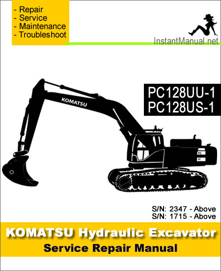 komatsu pc128uu 1 pc128us 1 hydraulic excavator service repair rh instantmanual net HP Owner Manuals HP Owner Manuals