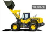 Komatsu WA320-5H Wheel Loader Service Repair Manual SN H50051-Up