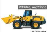Komatsu WA320-6 WA320PZ-6 Wheel Loader Service Repair Manual SN 70001-Up