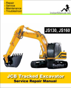 JCB_JS130 JS160_Tracked_Excavator_Service_Manual 54774_245x300 jcb js130 wiring diagram jcb backhoes part lists \u2022 free wiring jcb js 160 wiring diagram at gsmx.co