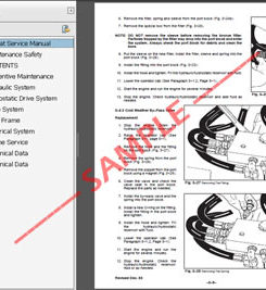Jcb 926 930 940 Rough Terrain Forklift Service Repair Manual Wheel Horse Wiring Schematic Jcb 930 Forklift Operation Manual JCB Mini Excavator At IT-Energia.com
