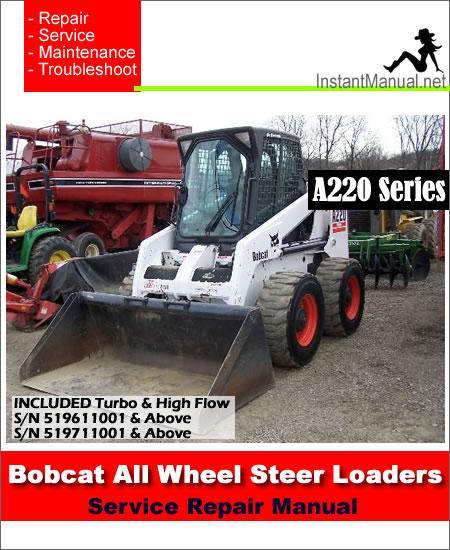 Bobcat A220 Service Manual download