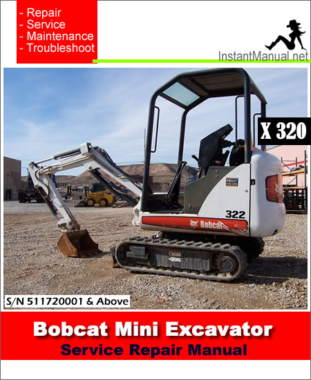 Caterpillar Service manual 320 excavator