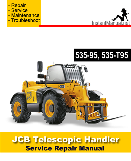 JCB 535-95 535-T95 Telescopic Handler Service Repair Manual