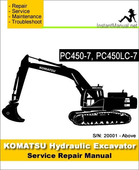 Komatsu Pc450
