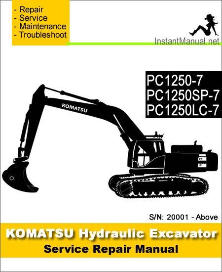 Komatsu Pc1250