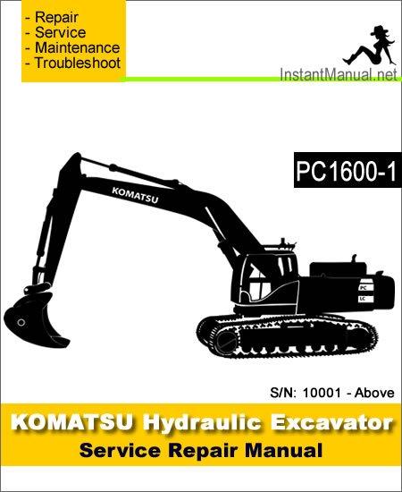 Komatsu Pc1600