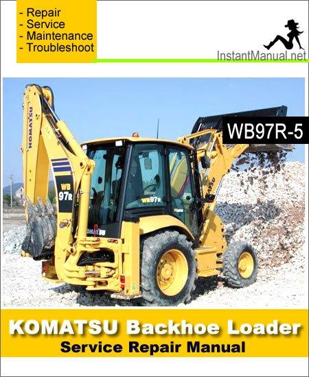Komatsu Wb 97 Service Manual