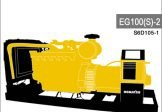 Komatsu Generator EG100S-2 Engine S6D105-1 Service Repair Manual SN 3001-Up
