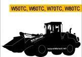 New Holland W50TC W60TC W70TC W80TC Wheel Loader Service Repair Manual