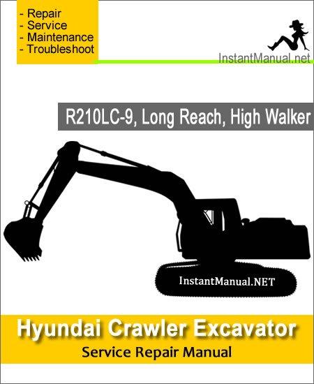 Hyundai Crawler Excavator R210LC-9 Service Repair Manual