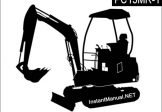 Komatsu PC15MR-1 Mini Excavator Service Repair Manual SN 10001-Up