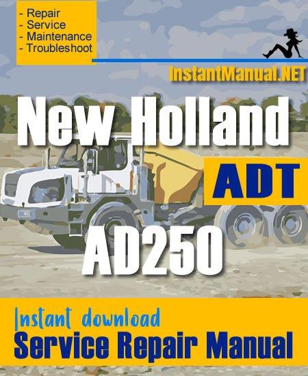 New Holland AD250 ADT Service Repair Manual
